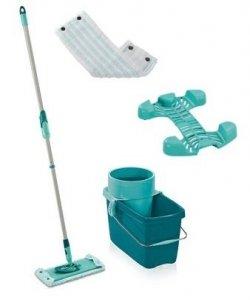 Mop obrotowy Leifheit 52014 Clean Twist M 33 cm z kółkami + nakładka Micro Duo | 52050/55320