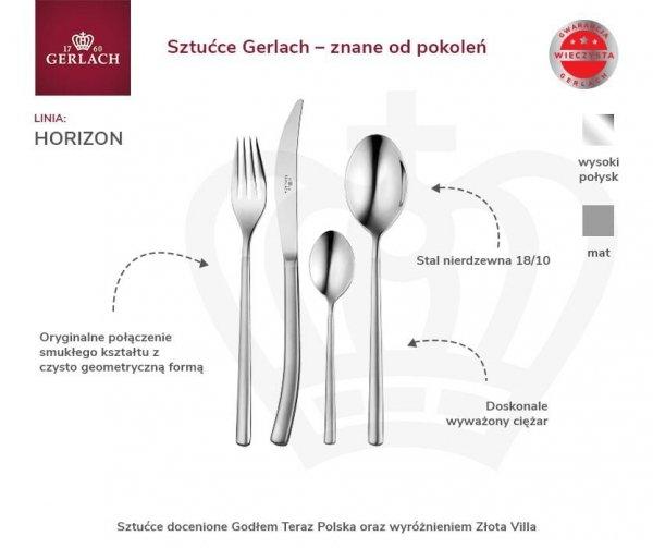Sztućce Gerlach NK 11 Horizon 68 PCS dla 12 osób | POŁYSK