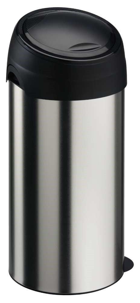 Kosz na śmieci Meliconi Soft Touch 60L | INOX | STAL NIERDZEWNA | 14430500006BD