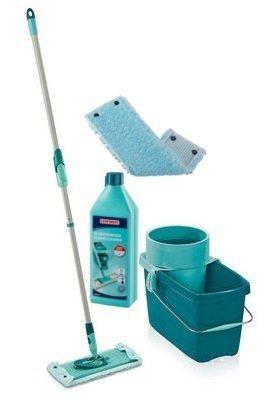 Mop obrotowy Leifheit Clean Twist M 33 cm + Nakładka Extra Soft + Płyn do płytek | 52014/55321/41417