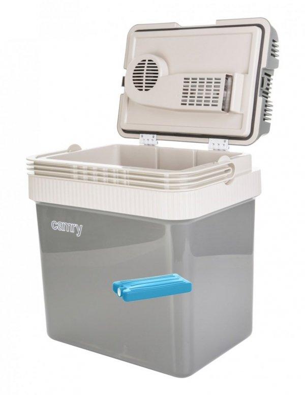 Lodówka turystyczna Camry 24 litry + wkład chłodzący 250ml | CR8065/W250ML