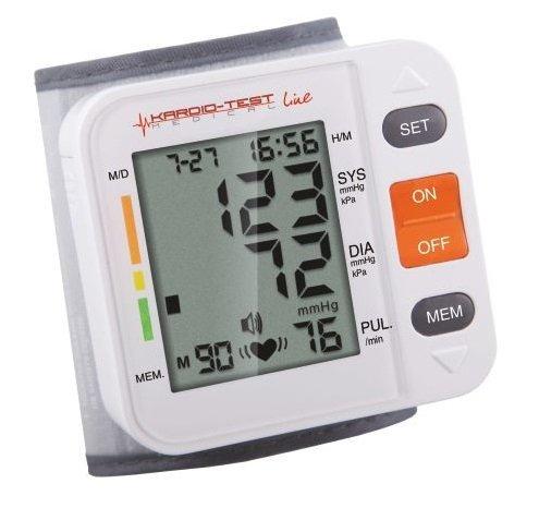Ciśnieniomierz elektroniczny nadgarstkowy KardioTest KTA-169 Basic