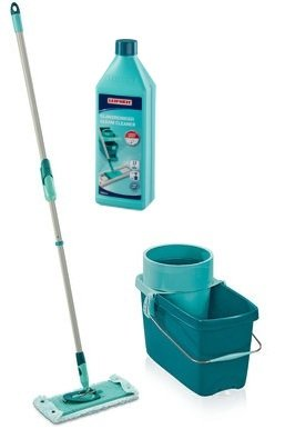 Mop obrotowy Leifheit Clean Twist Extra Soft XL 42 cm + Płyn do płytek | 52015/41417