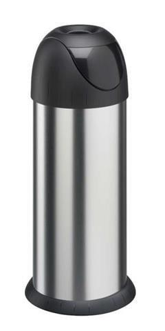 Kosz na śmieci Meliconi Bullet 40L | stal szczotkowana | 14000239206BA