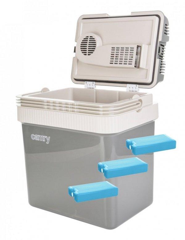 Lodówka turystyczna Camry 24 litry + wkłady chłodzące 1000ml | CR8065/3xW1000ML