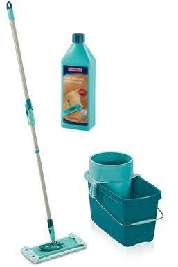 Mop obrotowy Leifheit Clean Twist Extra Soft XL 42 cm + Płyn do parkietu | 52015/41416