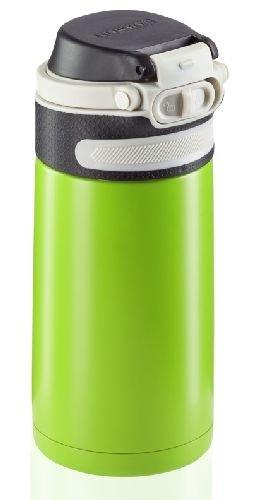 Bidon termiczny Leifheit FLIP 3249 stalowy 350ml ZIELONY | Kubek termiczny
