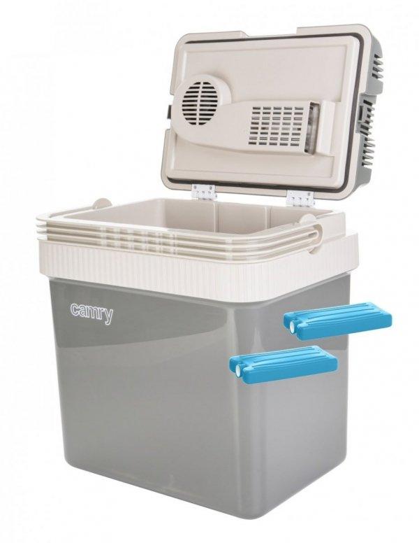 Lodówka turystyczna Camry 24 litry + wkłady chłodzące 250ml | CR8065/2xW250ML