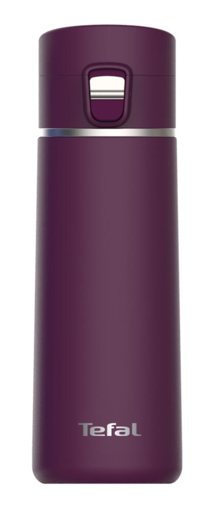 Kubek izotermiczny Tefal WeGO K23355 04 City Mug | 430 ml | FIOLETOWY | termos | termiczny