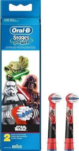 Końcówki Oral-B Stages Power dla dzieci z EB 10 z motywem Star Wars