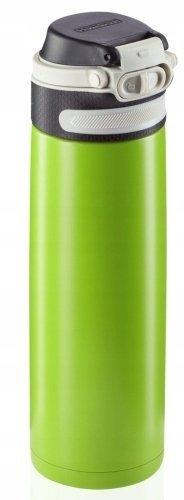 Bidon termiczny Leifheit FLIP 3277 stalowy 600ml ZIELONY   Kubek termiczny