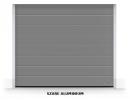 Brama segmentowa RenoMatic 2019, 2500 x 2000, Przetłoczenia M, Woodgrain / DecoColor, kolor do wyboru
