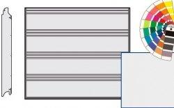 Brama LPU 42, 2375 x 2000, Przetłoczenia T, Silkgrain, kolor do wyboru