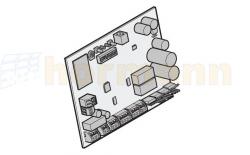 Płytka sterowania - centrala do LineaMatic / P / H, bez sygnalizacji radiowej