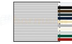 Brama RollMatic z napędem, malowana na kolor preferowany do wyboru