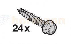 Śruby mocujące do Potronic S4000, 24 sztuki