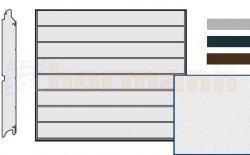 Brama LPU 42, 2375 x 2125, Przetłoczenia M, Sandgrain, kolor do wyboru
