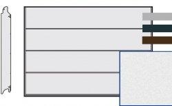 Brama LPU 42, 4750 x 2125, Przetłoczenia L, Sandgrain, kolor do wyboru