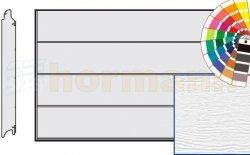 Brama LPU 42, 4000 x 2000 Przetłoczenia L, Woodgrain, kolor do wyboru