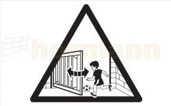 Tabliczka ostrzegawcza do RotaMatic / P / PL, Akku