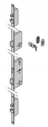 Dodatkowy zamek ryglowy - TPS HB 14-2 z owalną rozetą ---|} owalna rozeta z wkładką patentową 40,5 + 31,5 do drzwi ThermoPro