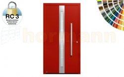 Drzwi aluminiowe ThermoSafe, Wzór 686, kolor do wyboru, przeciwwłamaniowe RC 3