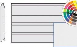 Brama LPU 42, 5500 x 2125, Przetłoczenia D, Silkgrain, kolor do wyboru