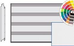 Brama LPU 42, 4250 x 2000 Przetłoczenia T, Silkgrain, kolor do wyboru