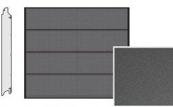 Brama LPU 42, 2440 x 1955, Przetłoczenia L, Decograin, Titan Metallic CH 703