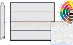 Brama LPU 42, 2375 x 2125, Przetłoczenia L, Woodgrain, kolor do wyboru