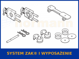 System ZAK® i wyposażenie