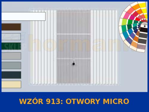 Wzór 913 Otwory Micro