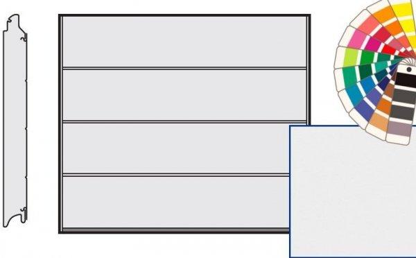 Brama LPU 42, 2500 x 2000, Przetłoczenia L, Silkgrain, kolor do wyboru