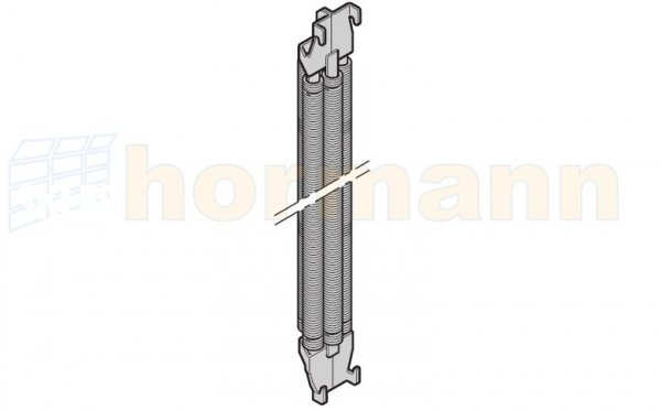 Poczwórny pakiet sprężyn N 80 / F 80 / EcoStar, nr oznaczenia sprężyny 017