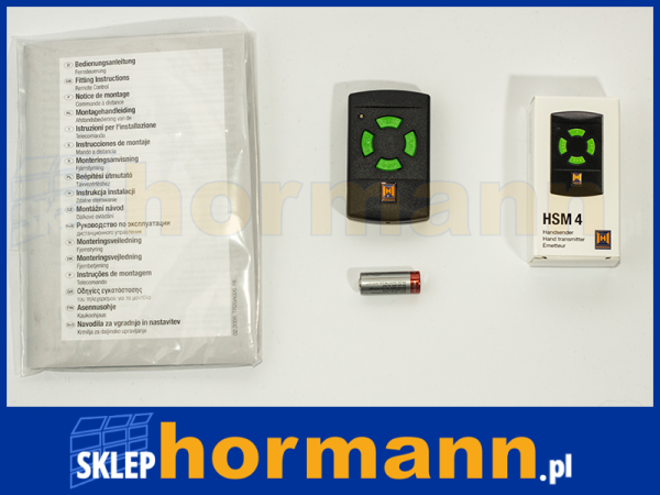 Pilot Hormann mininadajnik HSM 4 26,975 MHz (4-kanałowy)