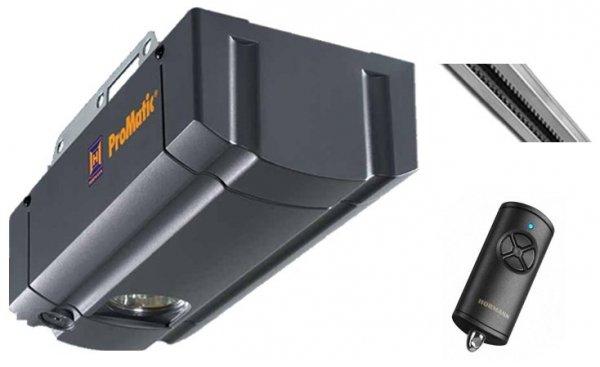 ZESTAW: napęd ProMatic seria 3 BiSecur (siła 750 N, do 11 m2) + szyna FS 10 + pilot HSE 4 BS