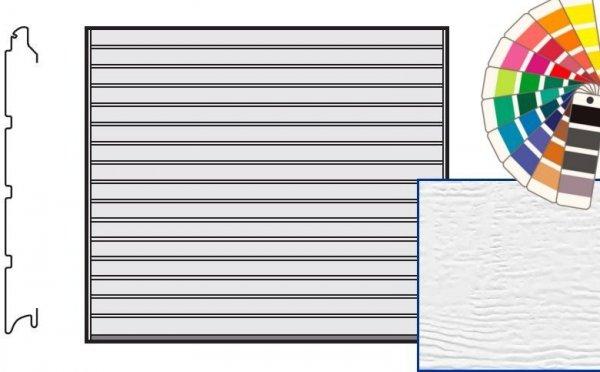 Brama LTE, 2375 x 2125, Przetłoczenia S, Woodgrain, kolor do wyboru