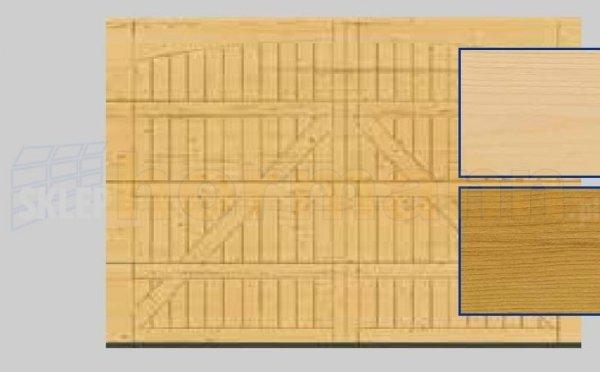 Brama LTH, 5000 x 2125, Wzór 405, Świerk