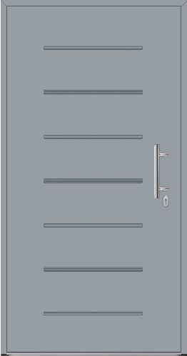 Drzwi ThermoPlus Wzór THP 015, kolor do wyboru