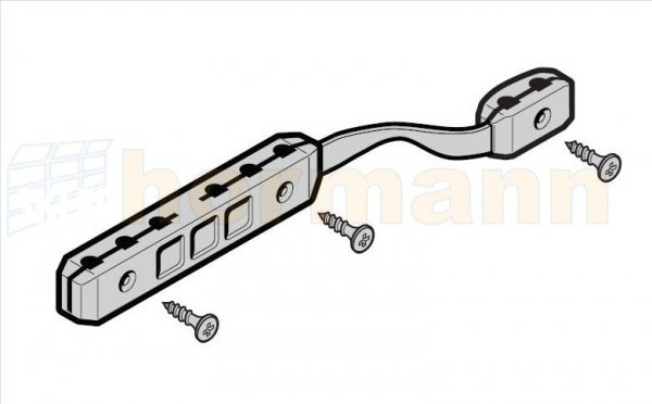 Złącze pasa zębatego do prowadnic FS 10, FS 2, FS 3 do SupraMatic, EcoMatic, ProMatic