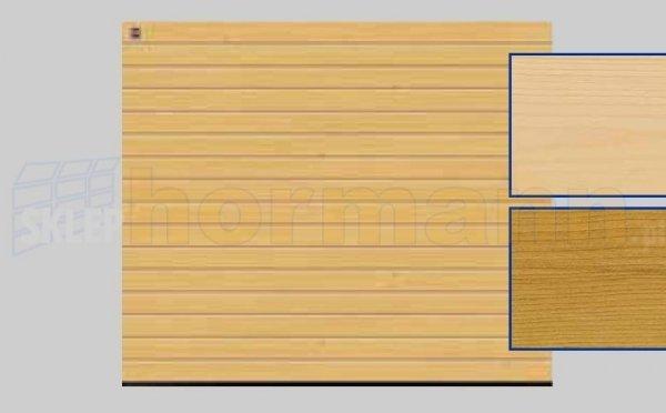 Brama LTH, 2500 x 2125, Przetłoczenia S, Świerk