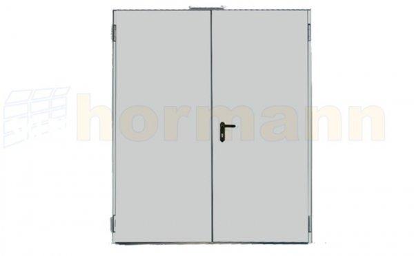 Drzwi wielofunkcyjne stalowe MZ, 2-skrzydłowe, 1800 x 2000
