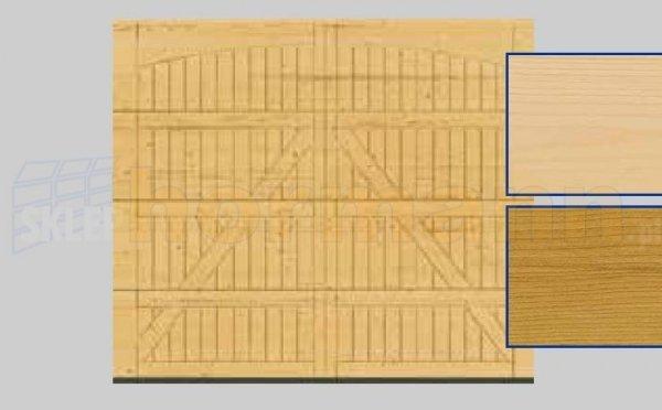 Brama LTH, 2500 x 2125, Wzór 405, Świerk