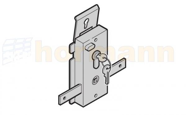 Zamek na jednostronną wkładkę patentową N 80 / F 80