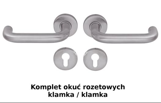Drzwi ThermoPlus Wzór THP 810, kolor do wyboru