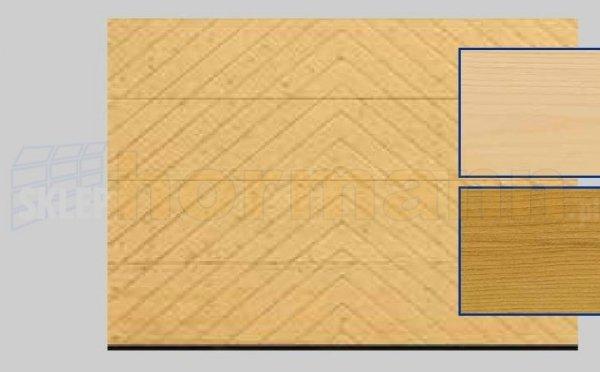 Brama LTH, 5000 x 2125, Wzór 401, Świerk