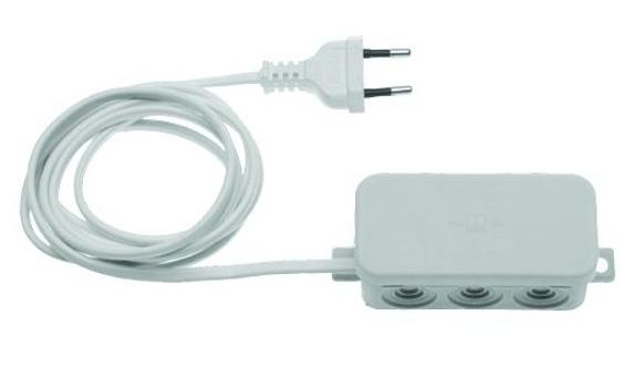 UNIWERSALNY odbiornik 2-kanałowy HET 2 868 MHz (zasilanie 230 V) pasuje do wszystkich urządzeń na rynku (funkcja impuls)