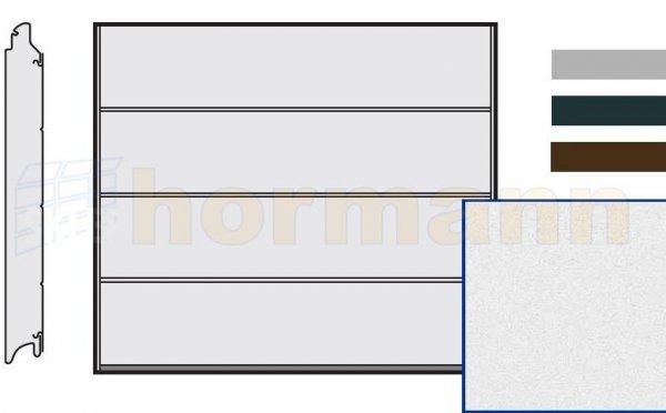 Brama LPU 42, 2440 x 1955, Przetłoczenia L, Sandgrain, kolor do wyboru