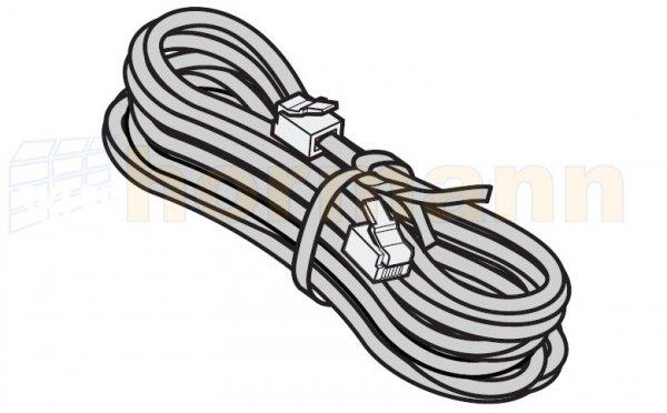 Przewód systemowy, 4-żyłowy z wtyczką systemową, szer. bramy od 6810 do 7800 mm, dł. przewodu 8500 mm