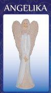 Angelika Wysokość 37 cm Figurka gipsowa
